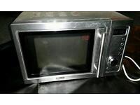 Delongi stainless steel microwave