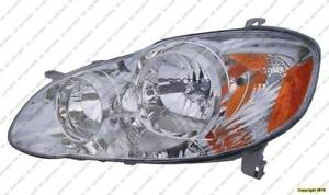 Head Lamp Driver Side Ce-Le Toyota Corolla 2005-2008