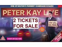 Peter Kay Live Tour (2 x VIP TICKETS) Leeds
