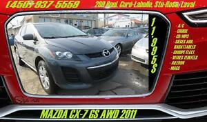 2011 Mazda CX-7 GS AWD CRUISE MAGS