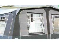 Caravan Awning (Insignia, charcoal grey)