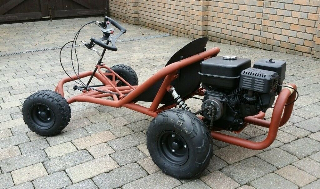Go Kart, Off-Road Drifter Buggy Go-Kart Cart! Refurbished throughout using many new parts!
