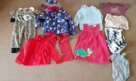 Girls clothes 18 months- 2yrs