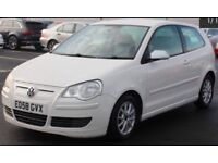 2008 VOLKWAGEN POLO 1.4 TDI BLUEMOTION+1 PREVIOUS OWNER+FULL SERVICE HISTORY+£0 ROAD TAX+BARGAIN!!
