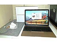 Apple 12.0 Gold 1.1ghz 8 GB Memory 256GB SSD Hard Drive Retina Model A1534 Boxed Mint New RRP £1249