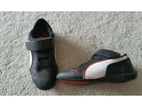 Puma trainers size 10 (kids)