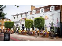 Receptionist at Coach and Horses Hotel, Kew/ Part Time