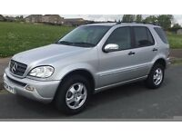MERCEDES ML270 CDI AUTO,7 SEATER,1 OWNER FROM NEW,54 REG,HPI CLEAR,V NICE CONDITION,DRIVE FAULTLESS.