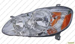 Head Light Driver Side Ce-Le Toyota Corolla 2005-2008