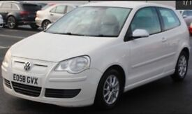 2008 VOLKSWAGEN POLO 1.4 TDI BLUEMOTION (£0 ROAD TAX!!)+FULL SERVICE HISTORY+TIMING BELT REPLACED!!