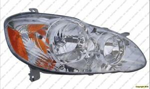 Head Lamp Passenger Side Ce-Le Toyota Corolla 2005-2008