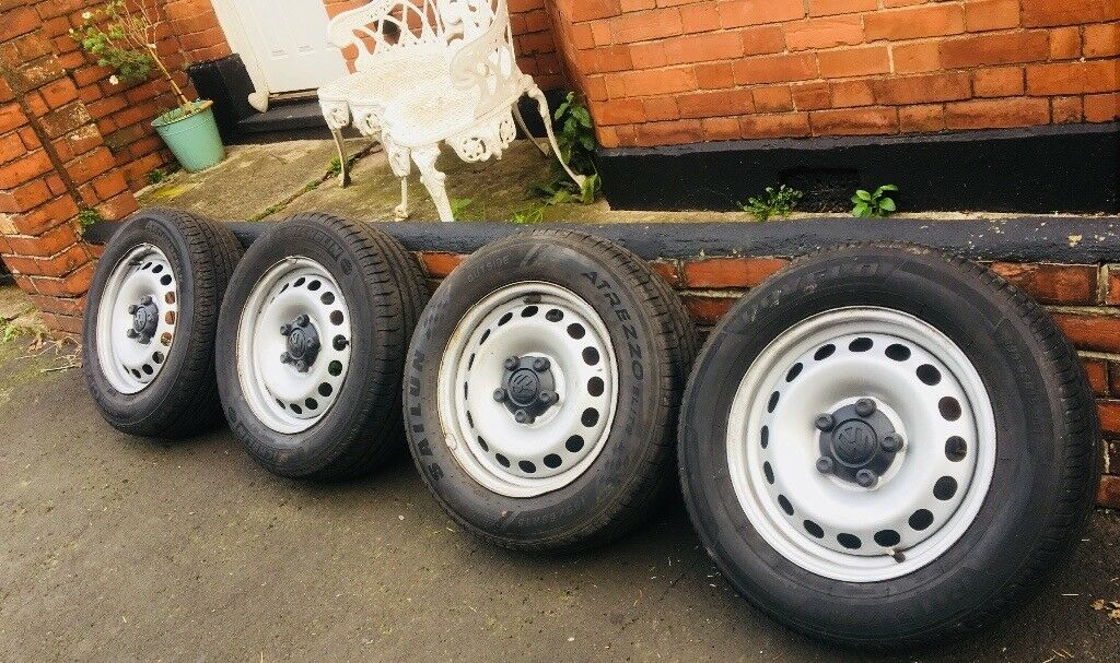 VW Steel wheels 5X112 Volkswagen Caddy