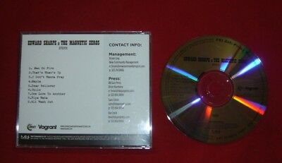 EDWARD SHARP & THE MAGNETIC ZEROS HERE 9 TRACK WATERMARKED PROMO
