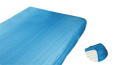 Matratzen-Schutzbezug, Matratzenschoner, blaue Folie