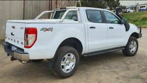 2017 Ford Ranger PX MkII MY17 XL 3.2 (4x4) White 6 Speed Automatic Dua