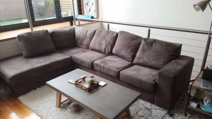 4 seater couch + chaise