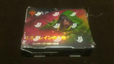 MTG Throne of Eldraine Sealed Collector Booster Box Japanese Magic the Gathering