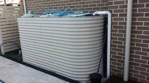 Bargain Rainwater Tank KLIP-LOK Roof Sheets Caesar Top Bench Door Macquarie Park Ryde Area Preview