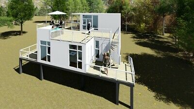 Container Home - Key West - Tiny Home Catalog