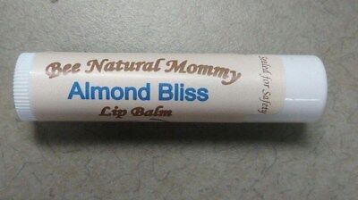 Almond Bliss Lip Balm - Natural Beeswax Chapstick - Better than Burt's