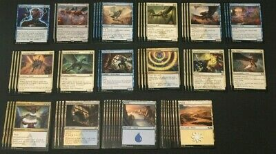 Magic: The Gathering - Blue White Flying Deck 5 w/ Ral's Dispersal/ Thopter (Magic The Gathering Blue White Flying Deck)