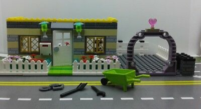 Lego Friends Custom MOC City Town Camp House &  Driveway. Tools. NEW   Camp Moc