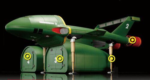 hunderbiunderbirdsDeagostini Jp 1/144 Scale Thunderbirds TB2 Unassembled Kit Set