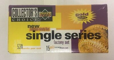 - 1995 Upper Deck Collector's Choice Factory Sealed 545 Card Baseball Box Set