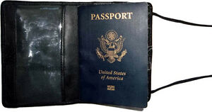 New-Leather-passport-case-passport-wallet-credit-ATM-card-case-ID-Holder-BNWT