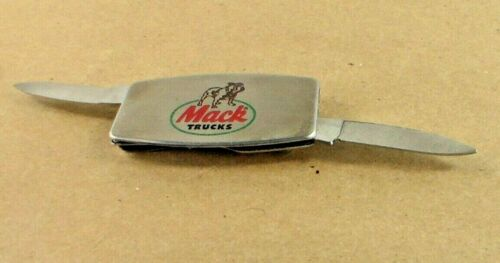 Zippo Mack Truck Money Clip with Knife and Nail File