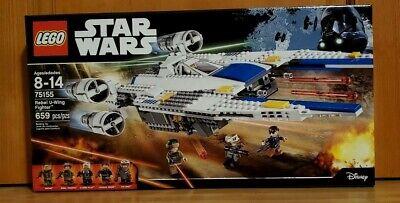 LEGO Star Wars Rebel U-Wing Fighter (75155) New & Factory Sealed