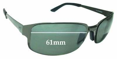 SFx Replacement Sunglass Lenses fits Maui Jim MJ-505-02 - 61mm (Maui Jim Australia)
