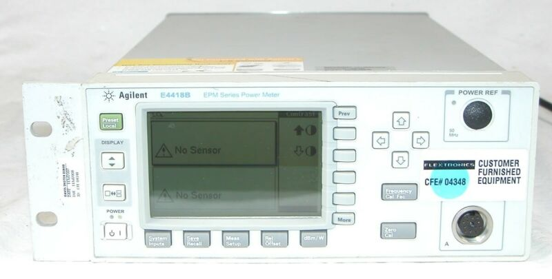 Agilent E4418B EPM Series Single-Channel Power Meter OPT 003