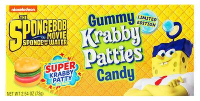 Spongebob Squarepants Gummy Krabby Patties (72g)