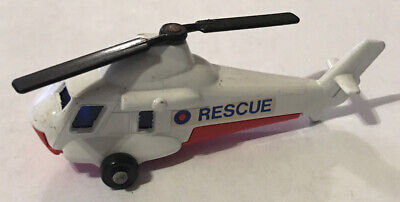 Vintage 1976 Matchbox Lesney No. 75 Seasprite Helicopter - Made in England