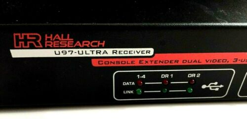 Philips Hall Research U97-ULTRA-2B-S Video/Audio/RS-232/USB Con. Extend-Send