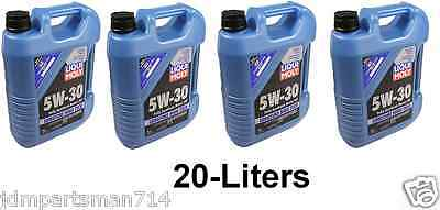 20 Liters 5W-30 Fully Synthetic Longtime High-Tech Liqui Moly 2039 Engine Oil