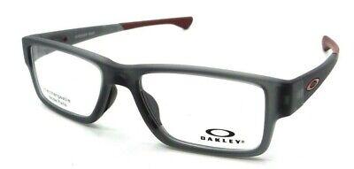Oakley Rx Eyeglasses Frames OX8121-0353 53-17-139 Airdrop MNP Satin Grey Smoke
