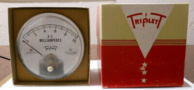 Triplett 0-10 Dc Ma Panel Meter