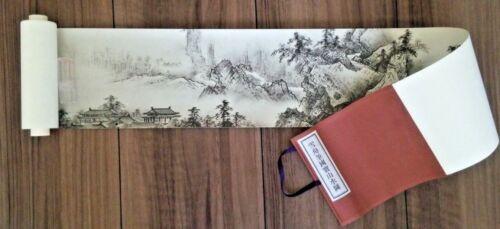 Landscapes of the Four seasons handscroll Japanese treasure reproduction Sesshu