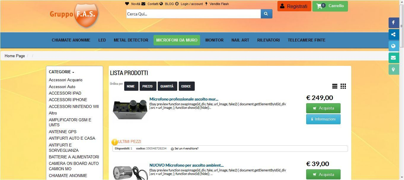 GruppoFas - Full Agency Service