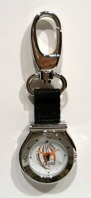 "Brand New 2005 National Champions "" TEXAS UT LONGHORNS "" Licensed Key Ring Watch"