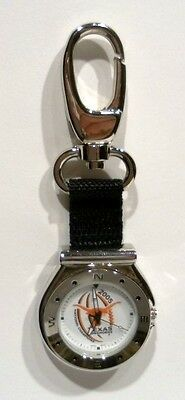 "Brand New 2005 National Champions "" TEXAS UT LONGHORNS "" Licensed Key Ring Watch"