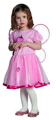 Erdbeerfee Fruchtfee Kostüm für Kinder (Fee Kostüm Für Kinder)