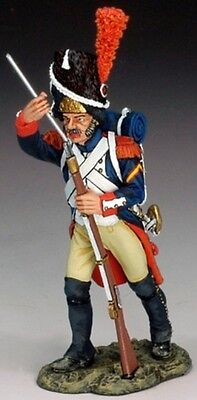 KING & COUNTRY THE AGE OF NAPOLEON NA156 FRENCH GUARD LOADING RIFLE MIB