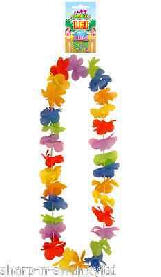 Damen Herren Unisex Multifarben Blume Hawaiian Lei Girlande Maskenkostüm