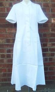 NEW MOD MILITARY army RAF QARANC Ward Uniform WRAC Nurse White no4 Dress 18-20
