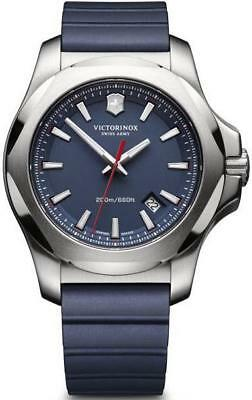 VICTORINOX Swiss Army I.N.O.X Blue Gents Watch 241688 - RRP £399 - NEW