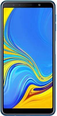 SAMSUNG GALAXY A7 2018 DUAL SIM 64GB 4G BLUE ITALIA GARANZIA 24 MESI