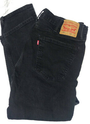 Levi's 502 Regular Taper Stretch Jeans sz 38W 32L 38x32 Excellent Condition
